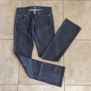 7 For All Mankind Colette Straight Leg Jeans